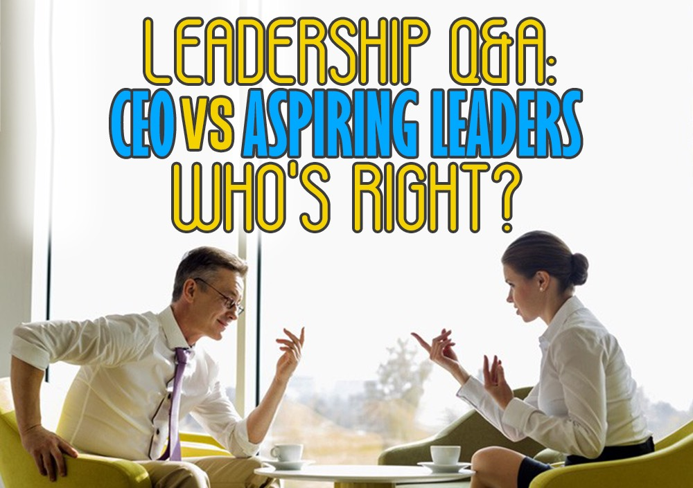 TLCL Podcasts - The Low Carb Leader | Leadership questions and answers, ceo vs aspiring leaders who's right