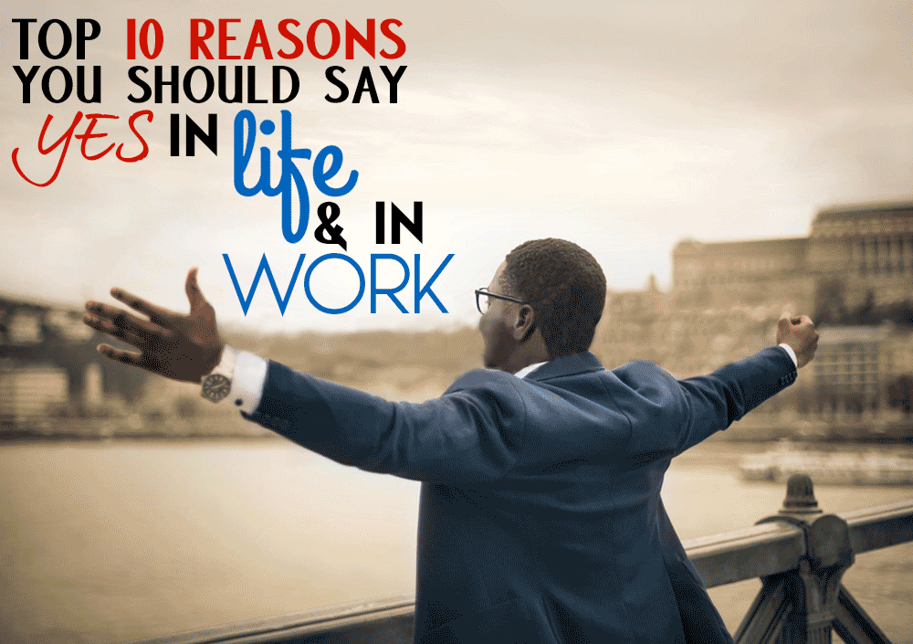 TLCL Podcasts - The Low Carb Leader | Top 10 Reasons You Should Say Yes in Life and in Work